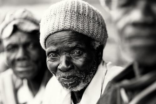 Malawi, old Chewa man