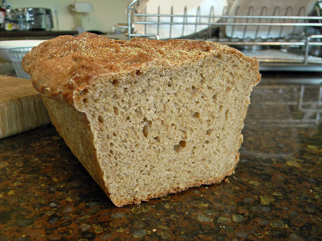 Soft Sprouted Wheat Sandwich Bread