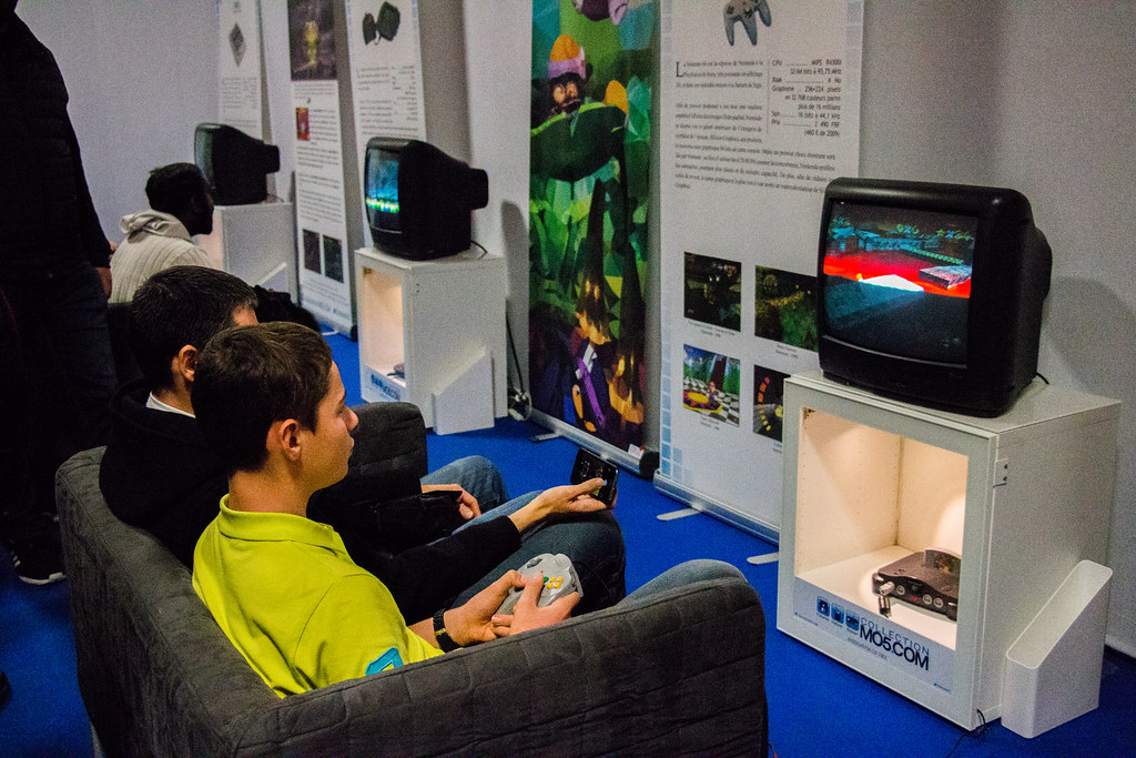 Paris Games Week 2015 - Retro Gaming