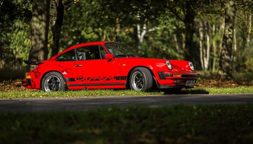 My 1983 Porsche 911 3.2 Carrera Sport at Clumber Park, Nottinghamshire in the Autumn Sun 17-10-2016 | by kevaruka