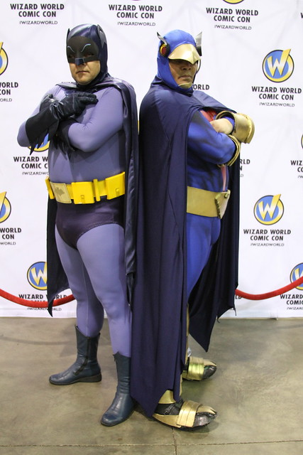 BATMAN AND BLUE FALCON