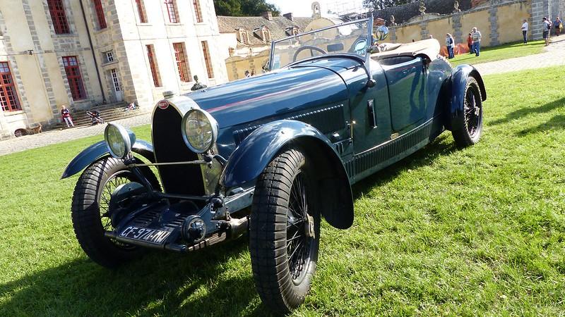 Bugatti type 38 Jean NOVO -  Château du Mesnil Voisin (91) 20955369454_34e29f367a_c