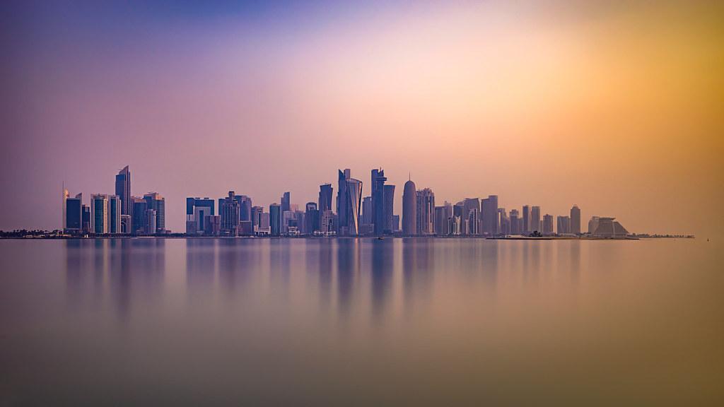Doha's Skyline