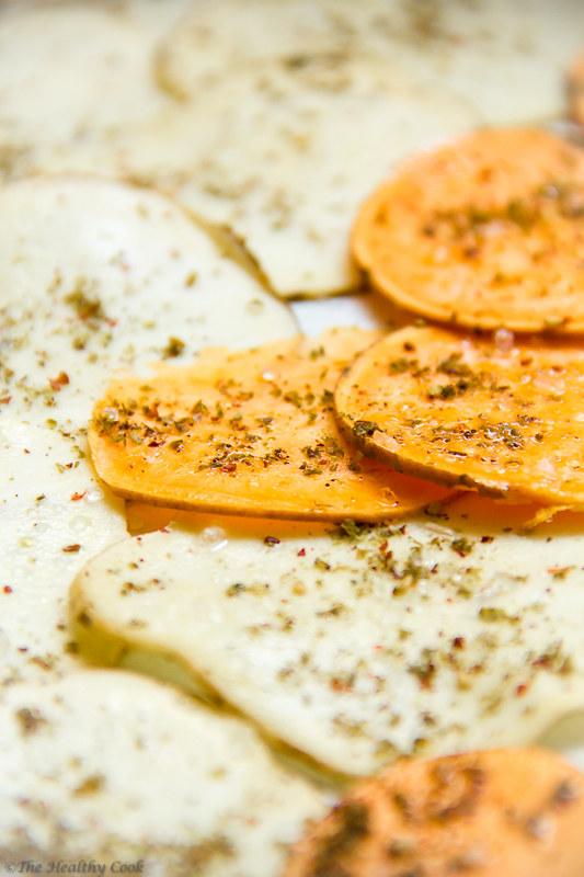 Veggie Chips with Za'atar – Τσιπς Λαχανικών με Ζαατάρ