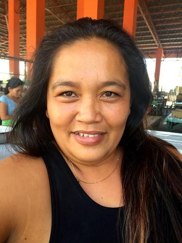 Medellin market vendor Teresa Q. Carmelo | by dilg.yolanda