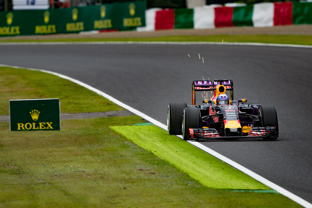 No.3 / Daniel Ricciardo / Infiniti Red Bull Racing