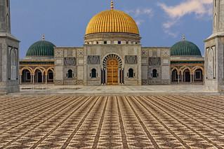 Habib Bourguiba's Mausoleum in Monastir, Tunisia