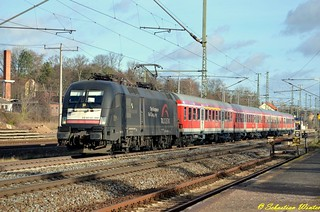 182 599-1 (ES 64 U2 -099) mit RB 16314 von Halle (S) Hbf nach Eisenach durch Neudietendorf am 12.12.2015 | by Photography Sebastian Winter