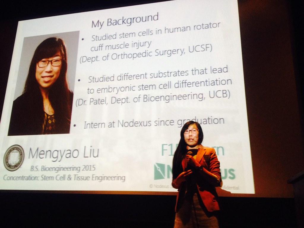 Nodexus | Mengyao Liu's introduction | UC Berkeley Research