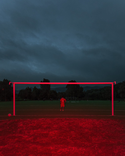 Soccer Goal , San Christobal, Chiapas, Mexico,2016