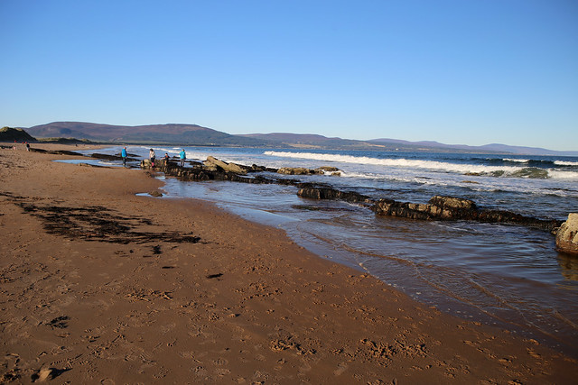The beach at Embo