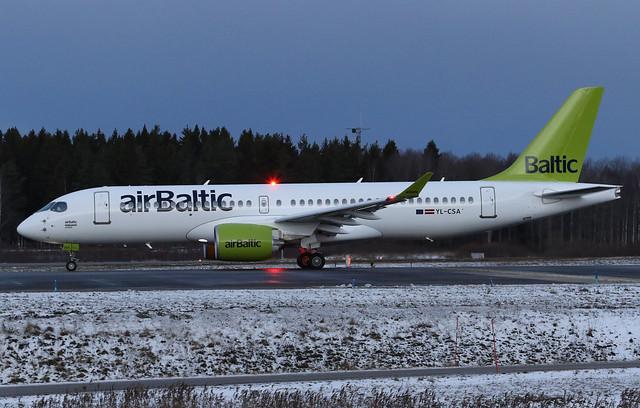 airBaltic Bombardier BD-500-1A11 CSeries CS300 YL-CSA 161130 ARN