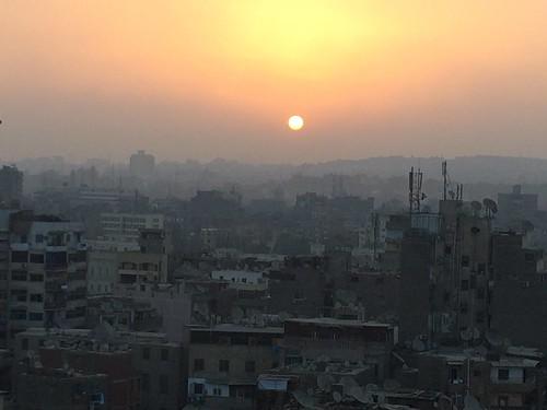 sunrise egypt cairo egypte lecaire