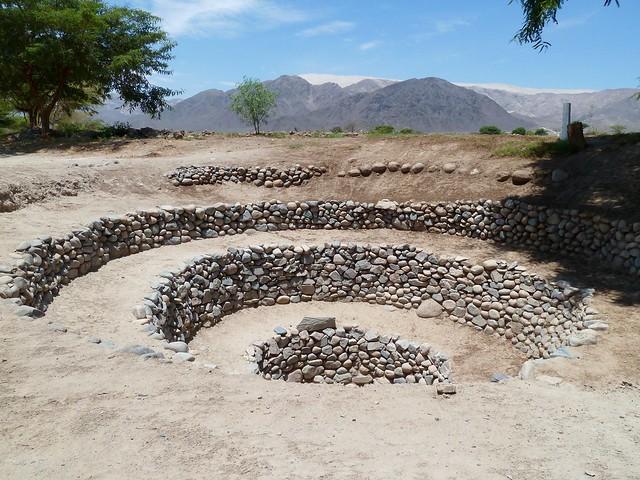 Puquios Aqueducts Nazca Peru