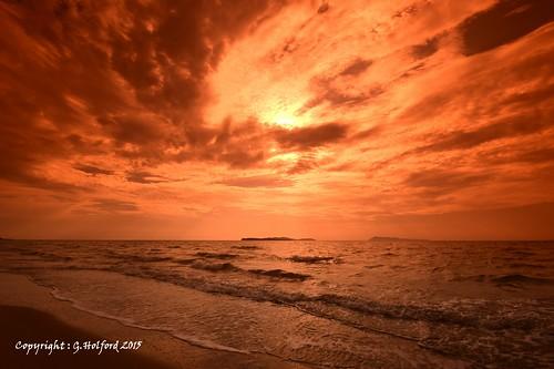 storm weather clouds filter orange greece corfu nikond5300 cloud sky outdoor sunset