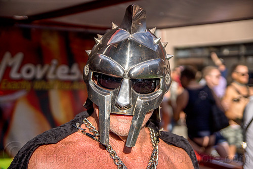 DSC02589 - Gladiator Mask - Metal Helmet | by loupiote (Old Skool) pro