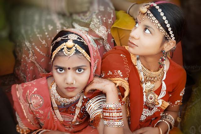 Girls. Udaipur, India