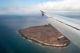Galapagos Flying Over