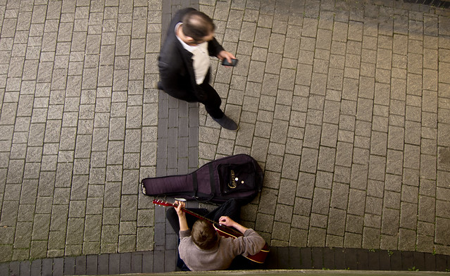 Busker From Above