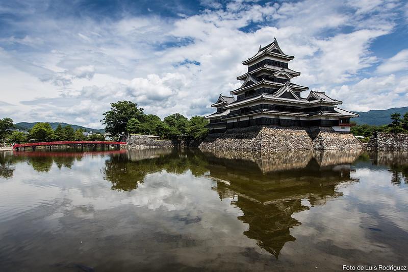 El castillo de Matsumoto o del cuervo negro