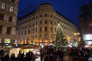 Christmas Market at Vörösmarty Square, Budapest | by mattk1979
