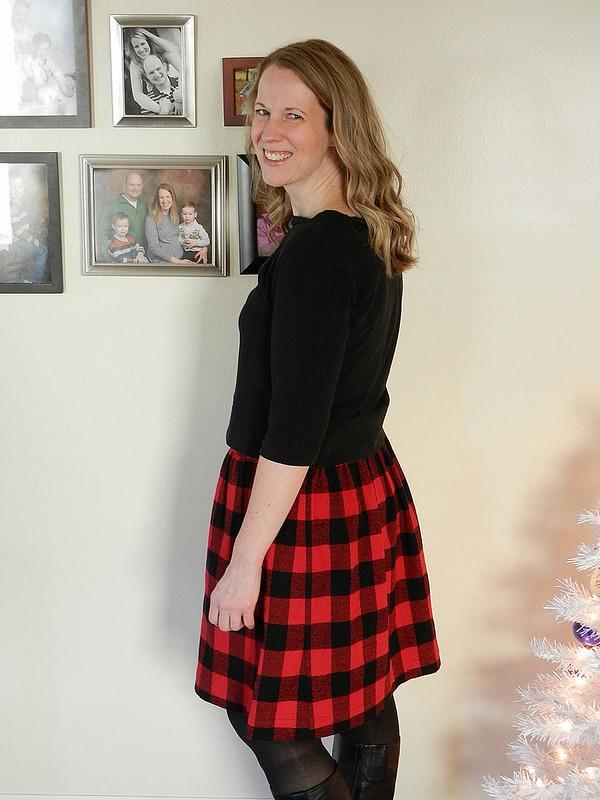 Buffalo Plaid Everyday Skirt 4.1