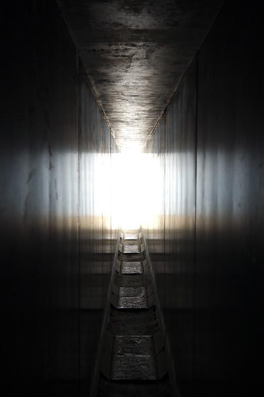 En dessous du sanctuaire Go'o