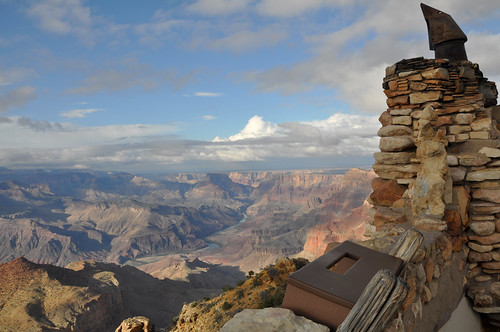 Views from the Desert View Tower, Grand Canyon National Park, Arizona