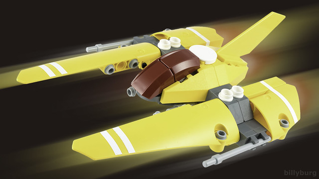 Yellow Peril Vic Viper