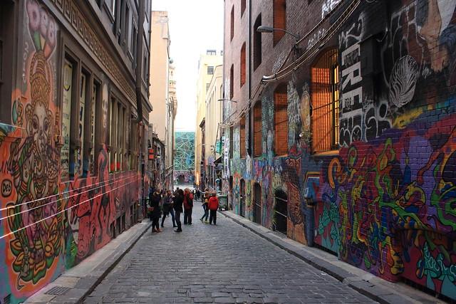 Street Art @ Hosier Lane, Melbourne Australia