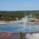 66- Yellowstone. Grand Prismatic Basin
