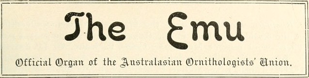 "Image from page 148 of ""The Emu"" (1901)"