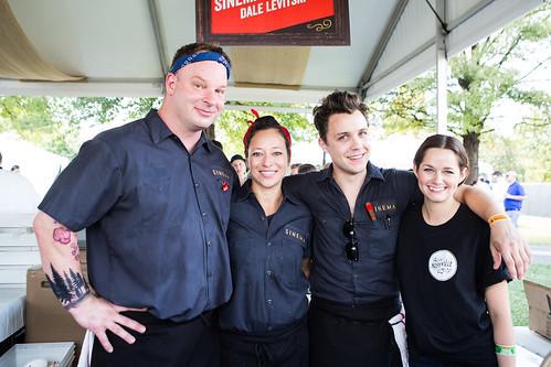 Chef Dale Levitsky's Sinema team