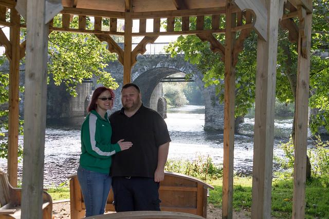 Jess and Brian at Gazebo.jpg