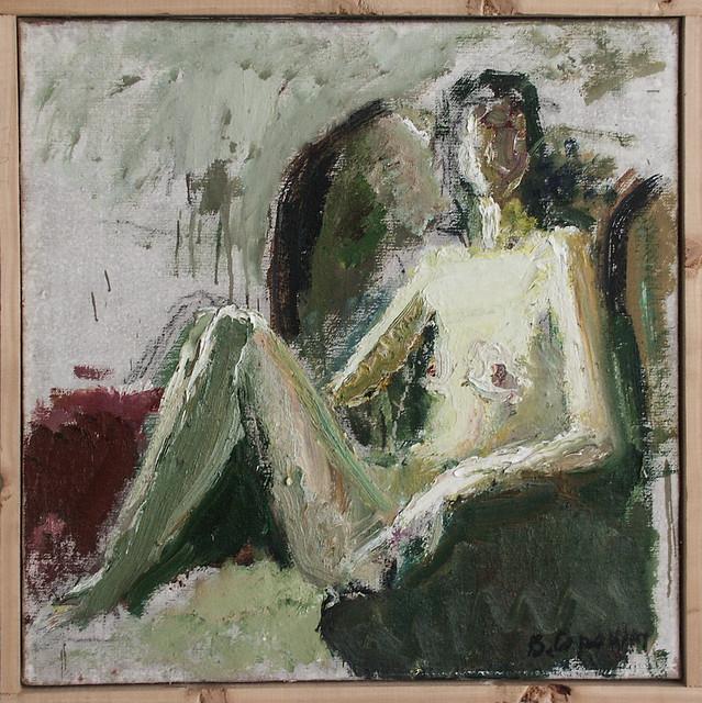 Under light, 1996. Viktor Sorokin (1912-2001)