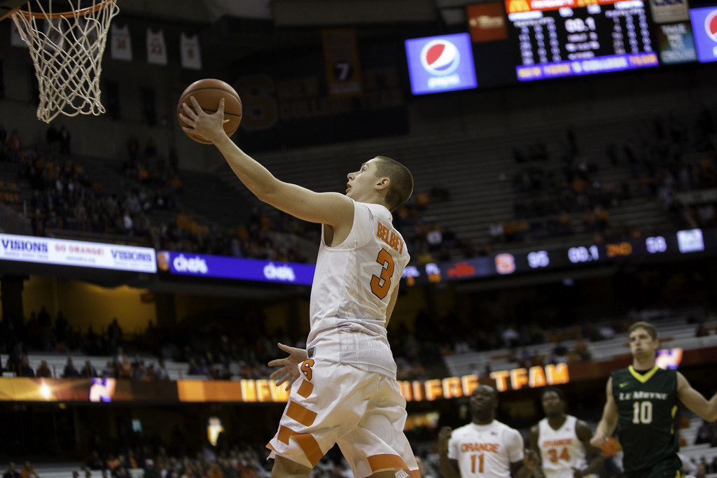 Syracuse Rout Le Moyne In First Men S Basketball Exhibition