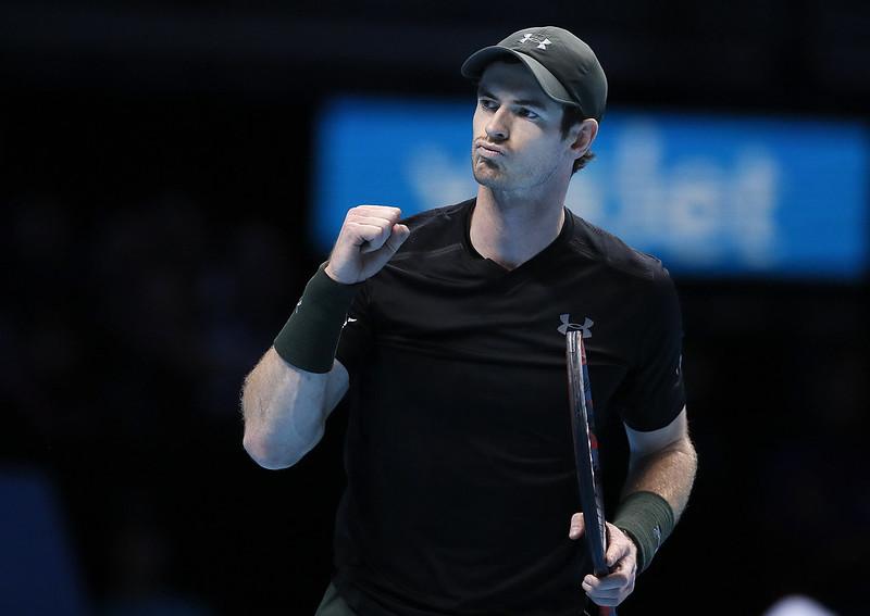 想回歸單打的Andy Murray先從雙打開始測試自己的狀況。(達志影像資料照)