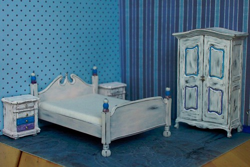 WIP blue bedroom | by Rabbit go mad