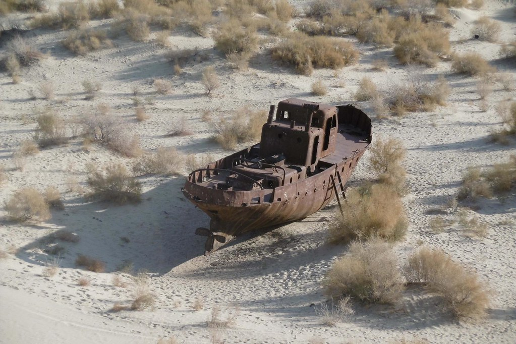 Ghost Aral Sea XII