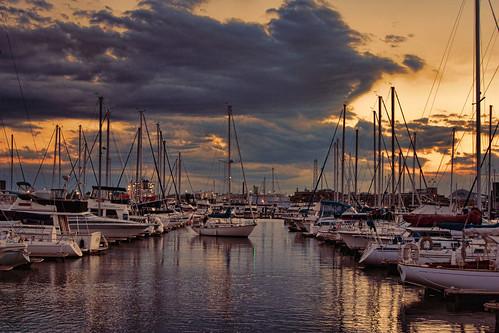 city sailboat river harbor maryland baltimore canton patapsco