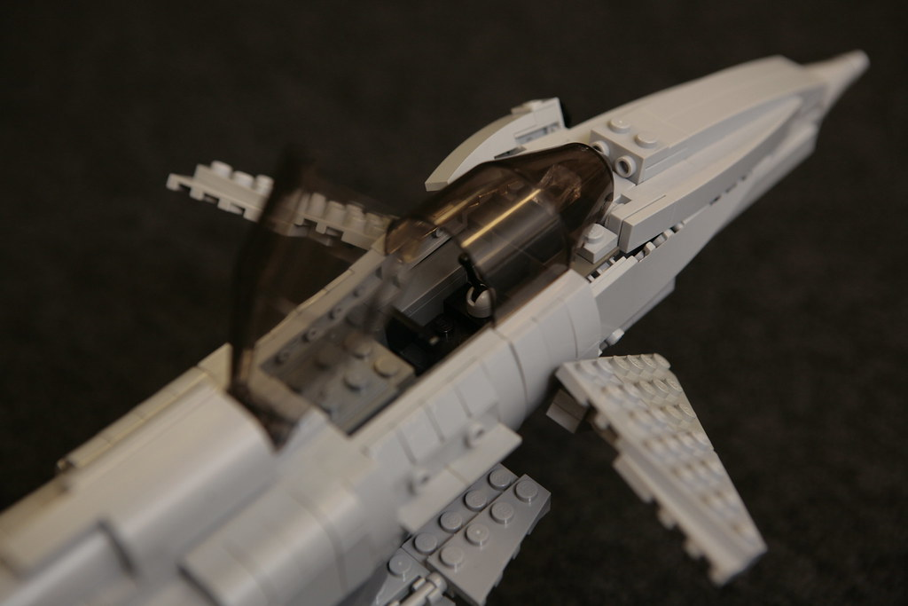 Lego Eurofighter Typhoon cockpit and canopy | Lego Eurofight