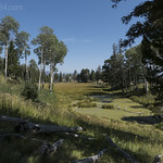 Pond along Sepulcher Mountain trail