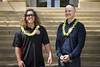 Student veteran scholarship recipients from UH Maui College's nursing program