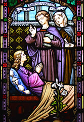 works of mercy: sick and ye visited me