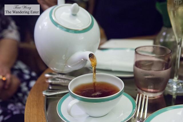 Pu erh tea (from Palais des Thés)