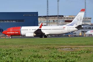 Norwegian (Carl von Linné livery), LN-NOU, Boeing 737-8FZ | by Anna Zvereva