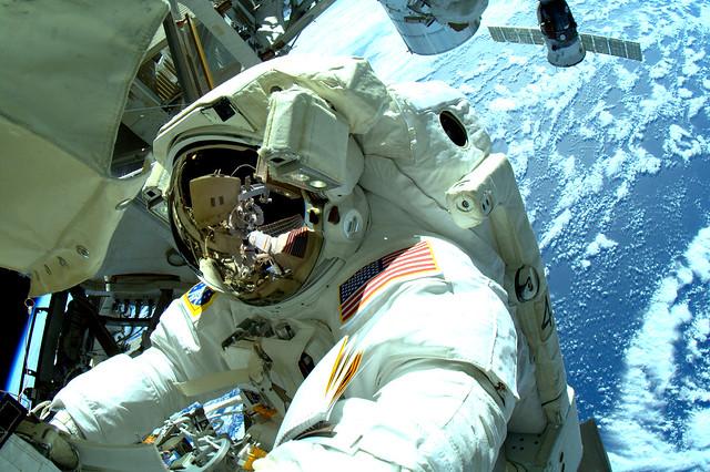 Crew Member of ISS