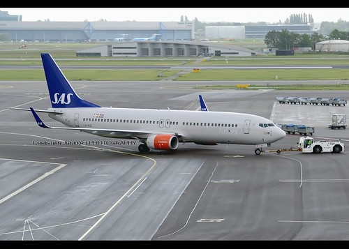 B737-86N/WL | Scandinavian Airlines | LN-RGD | AMS | by Christian Junker | Photography
