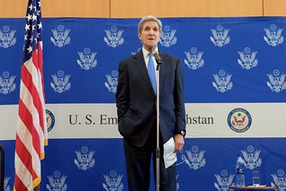Secretary Kerry Addresses Parents and Kids at a Meet and Greet at U.S. Embassy Astana