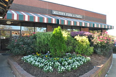 The doors were shut at Sertoma's today without prior notification. Thank you to the quick thinking of Ed Smallwood the meeting was quickly moved to Milton's Restaurant.